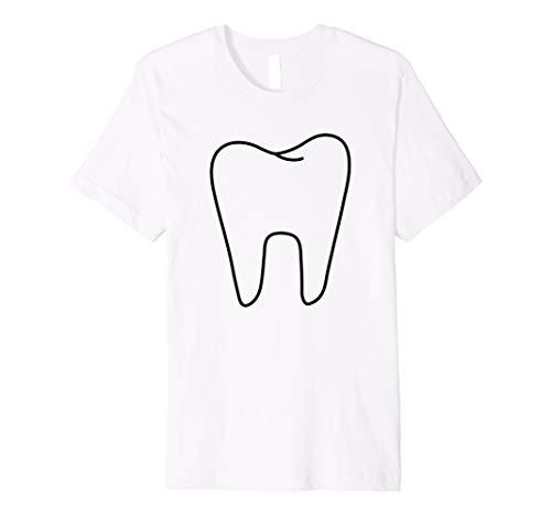 Funny Zahnfee weiß Kostüm T Shirt (Halloween-kostüme Paare Ideen Gute)