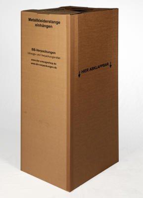 Kleiderboxen mit Stange - 2
