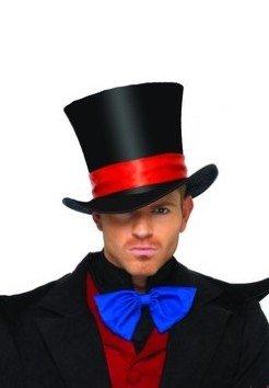 Leg Avenue Deluxe Mens Halloween Oversized Black Velvet Top Hat - 2143 Leg Avenue Magic