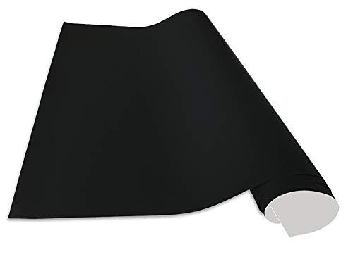 Cuadros Lifestyle Selbstklebende und magnetische Vinyl- Tafelfolie/Magnetafel/Magnetfolie, Farbe:Schwarz, Größe:100x200 cm