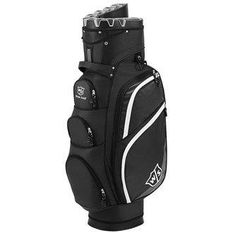Wilson I-lock Organizer Golfbag schwarz / grau Trolleybag Golftasche