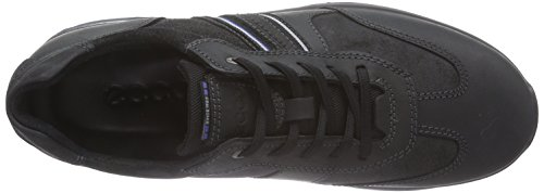Ecco Ecco Hayes, Chaussures Oxford homme Noir - Schwarz (Black/Black)