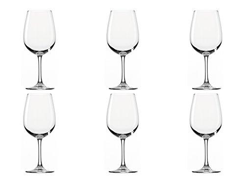 Stölzle Lausitz Bordeaux Rotweingläser Weinland 540ml, 6er Set Weinglas, hochwertige Qualität, spülmaschinenfestes Bordeauxgläser, große Rotweinkelche - 3