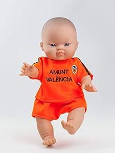 Paola Reina Paola Reina04023 Gordi Sports Valencia Boy Muñeca, Naranja, 34 cm