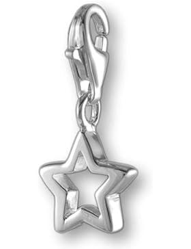 Melina Damen-Charm Anhänger Stern 925 Sterling Silber 1801226