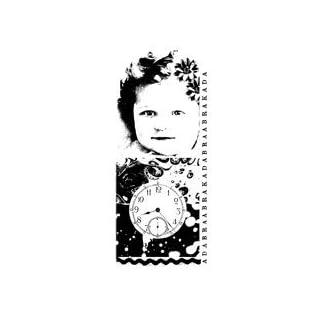 EM Mini Paper Artsy unmounted Rubber Stamp mini05