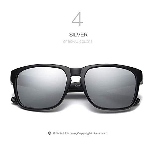 MJDL Männer Polarisierte Sonnenbrille Hd Linsen Frauen Männer Markendesigner Sonnenbrille Design Hohe Qualität Retro Uv400 Brillen C4