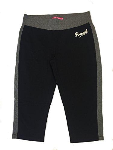 Pineapple - Pantalon de sport - Femme noir/gris