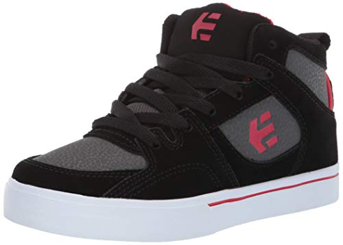 Etnies Kids Harrison Ht, Scarpe da Skateboard Unisex-Bambini, Nero (Black/Grey 570), 27.5 EU