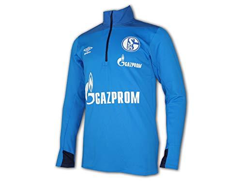 Umbro 2018-2019 Schalke Half Zip Training Top (Blue) -