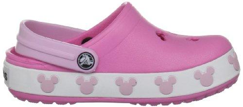 Crocs Crocband Mickey II Sabot Pink Lemonade/Bubblegum