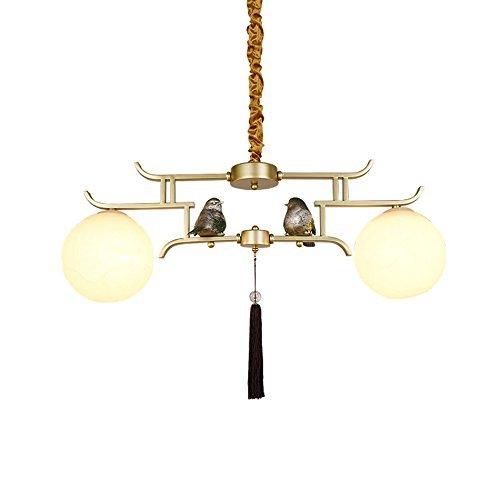 Cllcr lampadario per uso domestico, crystal palace lampada da soffitto, lampada da parete in ferro battuto lampadari cinesi moderni, camera da letto semplice studio in stile arte cinese ferro da stir