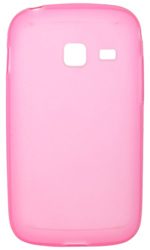 iCandy™ Colourful Thin Matte Finish Soft TPU Back Cover For Samsung Galaxy Y Duos S6102 - Pink  available at amazon for Rs.190