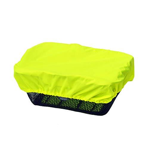 NICE \'n\' DRY Regenschutz Abdeckung Fahrradkorb, Neongelb