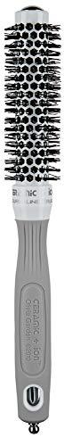 Olivia Garden Rundhaarbürste Ceramic + Ion 20, antistatische Ionen-Rundhaarbürste mit Keramikkörper und Nylonborsten 20/ 35 mm - Kleine Runde Haarbürste