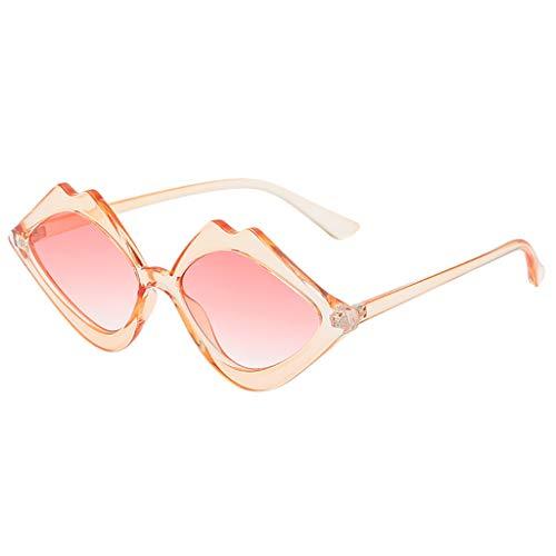 iYmitz Sonnenbrillen Damen, Vintage Auge Retro Herren Strand So Brillen Mode Leicht Strahlenschutz...