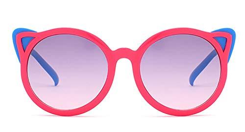 Daesar Sonnenbrille Trend 2019 Rot Blau Kinder Sonnenbrille Sport mit Harz Linse