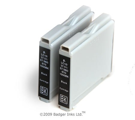 Price comparison product image 2 Black Compatible Printer Ink Cartridges fit Brother MFC 260C