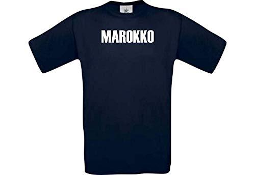 Shirtstown Man Camiseta Fútbol Camiseta País Marruecos