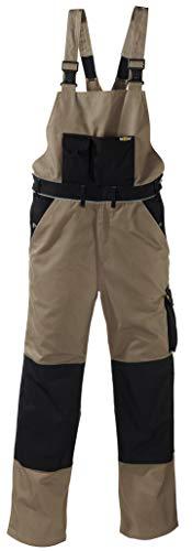 Texxor tela 3202-in-1pantaloni da lavoro con Cordura rinforzato, 48, khaki