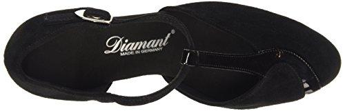 Diamant - Diamant Damen Tanzschuhe 068-069-008, Scarpe Da Ballo - Standard & Latino da donna Nero (Nero (nero))