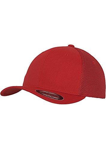 Tactel Flex-cap (FLEXFIT - Tactel Mesh Cap (red), Gr. L/XL)