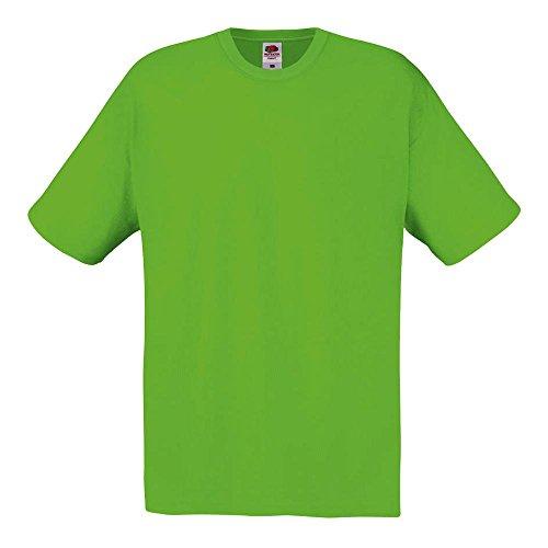 Fruit of the Loom - T-Shirt 'Original T' / Lime, XXL