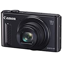 Canon Powershot SX610 20MP Camera with 18x Optical Zoom (Black)