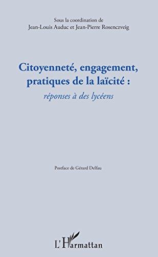 Citoyennet, engagement, pratiques de la lacit :: rponses  des lycens