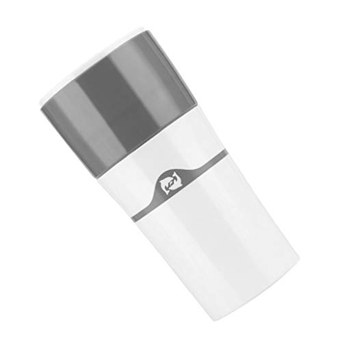 Baoblaze Reise Mini Kaffeemaschine Tragbar Manuelle Wasserflasche Kunststoff Trinkflasche mit Kaffee...