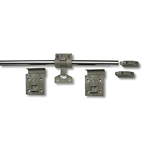 Table Wall Rail Kit System Campervan Conversion VWT5 Transit Traffic ... (Table and screws not