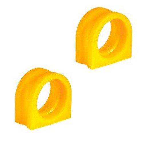 Preisvergleich Produktbild Satz von 2 Stück PU Buchse,  18-01-1850-2 Hintere Aufhängung,  Stabilisator 5 Series,  7 Series
