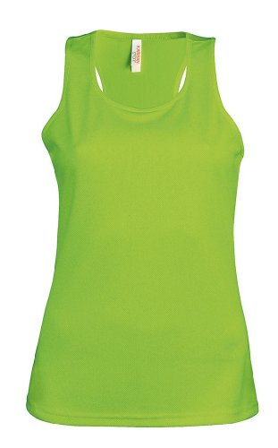 Funktionelles Ladies Trägershirt Lime