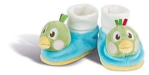 NICI 43944 Fritz Der Spatz - Zapatos para bebé con sonajero, diseño de Pato