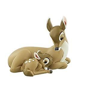 Bambi Disney - Disney Bambi et mère Souvenir–Figurine–My Little