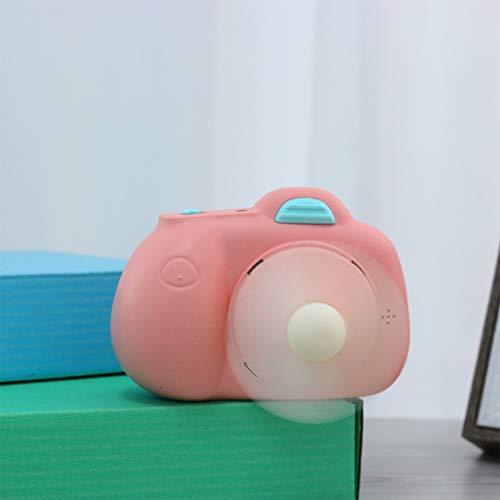 Externe Außen-gebläse (Bearbelly USB Wiederaufladbare Handheld Mini Fan Leistungsstarke Persönliche Tragbare Neuheit Kamera Modell Fan Kreatives Geschenk für Kinder Studenten Home Office Im Freien Reisen)