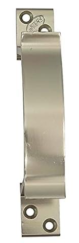 10 x Flyrail fini chrome poignée de porte 125 mm Pousser décorative et tirer la porte à levier
