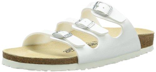 Birkenstock Florida , Chaussures femme blanc (54731_Weiss)