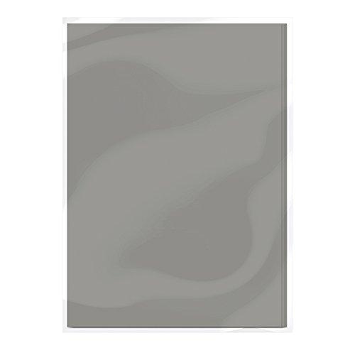 Craft Perfect Tarjeta A4–estaño gris