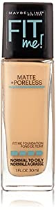 Maybelline Fit Me Matte Plus Poreless Foundation - Nude Beige