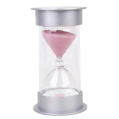 DE-SSSC 10 Minuten Sanduhr Sanduhr Sand-Timer Home Decor Rosa