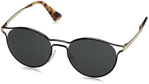 Prada Damen 0PR62SS 1AB0A7 53 Sonnenbrille, Schwarz (Black/Silver/Grey),