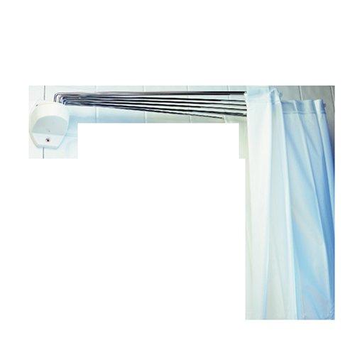 #Spirella 1004441 Duschspinne OMBRELLA WHITE B x H: 200 cm x 170 cm#