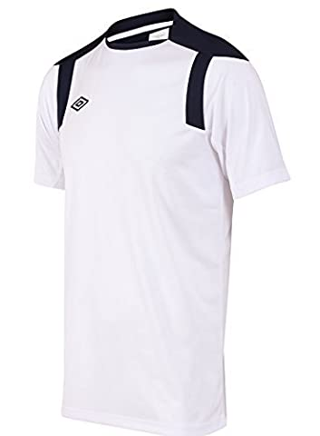 Umbro Mens Training Jersey Football T Shirt Soccer Shirt Polyetser