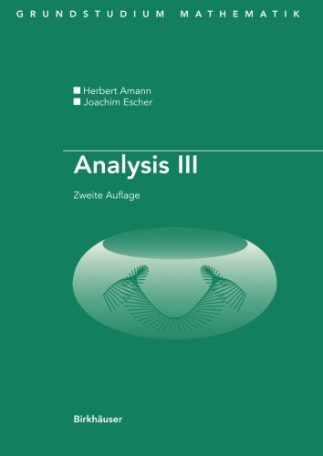 Analysis III (Grundstudium Mathematik)