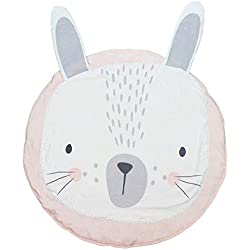 meosu Tappeto Gioco Bambini Child Play Mats Kids Crawling Floor rug Baby Soft Cotton Sleeping Game Rugs Children Room Decor 90Cm Pink Rabbit