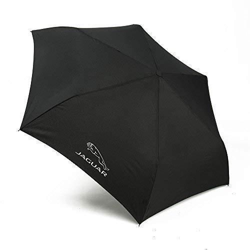 Preisvergleich Produktbild JAGUAR NEU Original schwarz Aluminium Fach Regenschirm 50jeum121bka