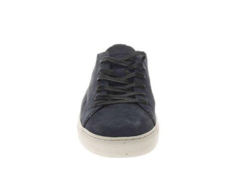 Crime London Uomo Sneaker 11278KS1 40 Sneaker in Pelle Uomo Blu