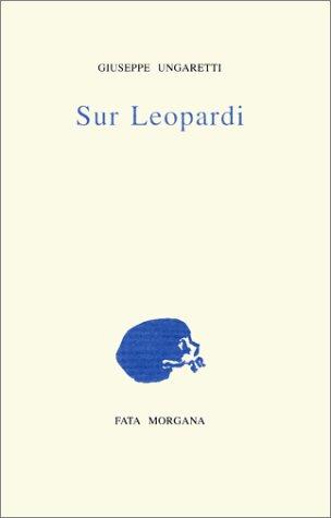 Sur Leopardi