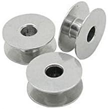 chengyida 50- unidades aluminio Industrial máquina de coser bobinas para Brother Singer